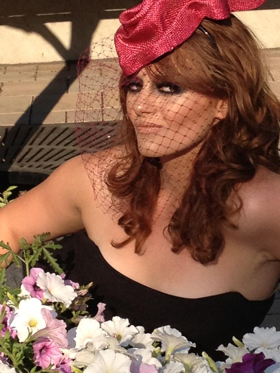 Tonya Gross Millinery X Zappos.com [C. Bagsby via Haute Chicago]