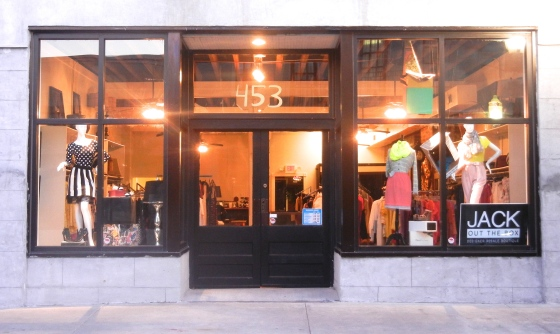Store Front Concept for Jack Out The Box | Boutique | Downtown Mobile