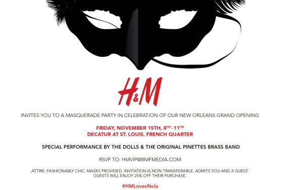 H&M Invitation