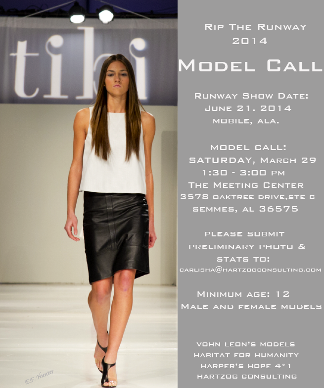 Model Call | Saturday, March 29, 2014