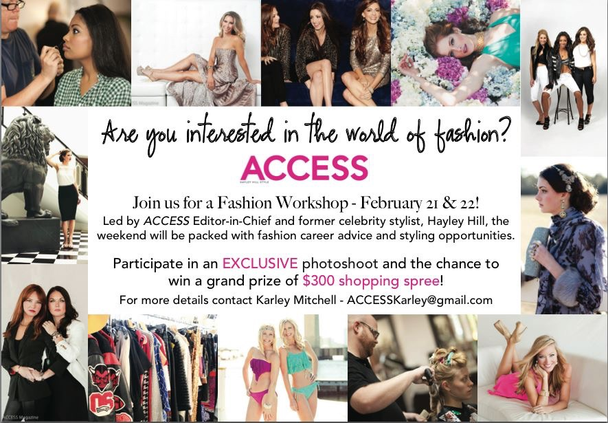 Access Magazine Presents: The Fashion Workshop